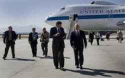 US defence chief lands in Afghanistan for meetings