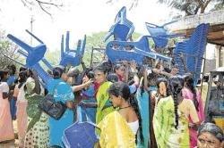 Chaos marks Women's Day celebration