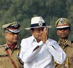 Terrorism being fanned to destabilise economy: Chidambaram