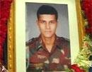 Major Sandeep Unnikrishnan honoured