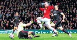 Rooney fuels Man U victory