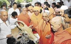 Meet on cow slaughter ban