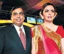 Mukesh richest Indian for second time