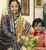Six-year old's noble act moves President