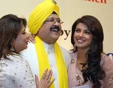 'Proud daughter' Priyanka launches father's music album