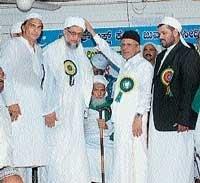 New Qazi takes charge