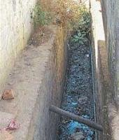 N R Pura stinks as drainage lacks maintenance