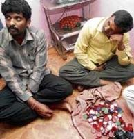 Three arrested for distributing goodies