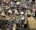 15 injured in police lathicharge in Patna