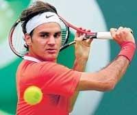 Federer gets past fighting Serra