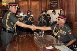 V K Singh takes over as army chief
