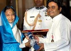 "Rahman feels ""happy and honoured"" with Padma Bhushan win"