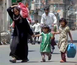Hyderabad limps back to normalcy
