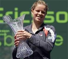 Kim Clijsters beats Venus Williams for Key Biscayne title