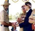 Fingerprint expert honoured