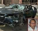 Speeding BMW kills elderly man