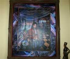 Rare Michael Jackson portrait up for grabs