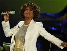Whitney Houston out of hospital, rubbishes drug addiction reports