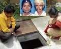 Man dumps wife's body in sump