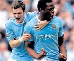 Manchester City rout Birmingham