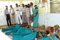One dies, 40 take ill after drinking water