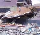 Buildings collapse, residents fume