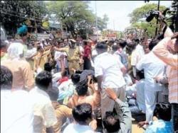 Dalits resort to snap strike