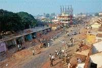 I G Road buildings become history