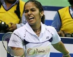 Saina crashes out, Indian challenge over at ABC