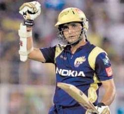 Fiery Ganguly leads Knights charge
