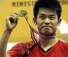 'Super Dan' wins Asian badminton men's singles title