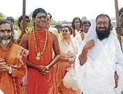 Sri Sri telecon with Nithyananda from defunct Los Angeles temple