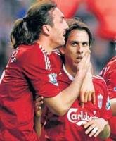 Liverpool flatten Hammers