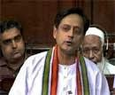 Tharoor tweets thanks at 'time of trial'