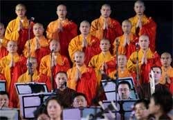 Buddhist orchestra group enthralls music lovers