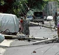Normalcy still to return in rain-hit Vijayanagar area