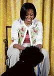 It's fun to share White House, says Michelle