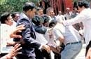 TN lawyers' protest turns ugly