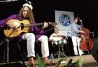Gypsy tinge to strings