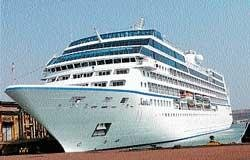 Cruise vessel Nautica arrives at NMPT