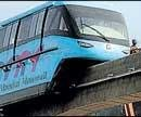 Govt pushes monorail project