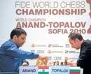 Anand breaches Topalov defence to grab initiative