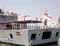 India's first indigenous warship commissioned