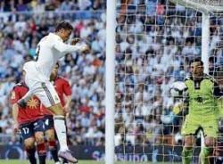 Ronaldo keeps Real in hunt