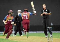 West Indies in Super Eights as rain mars England hopes