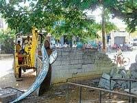 Govt buildings being evicted for road widening