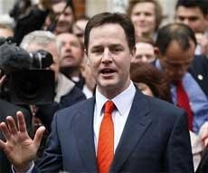 Nick Clegg emerges as the king-maker in Britain