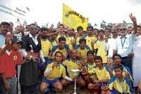 Palanganda clinch title in style