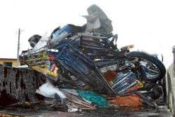Six killed in lorry accident