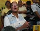 Philippines holds elections with Aquino the frontrunner